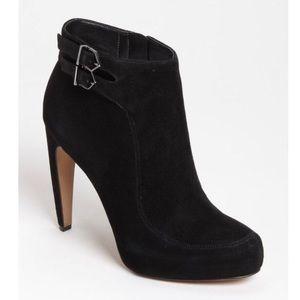 Sam Edelman Kit Suede Black Boots